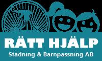 Rätt hjälp – Städning & Barnpassning AB Logo